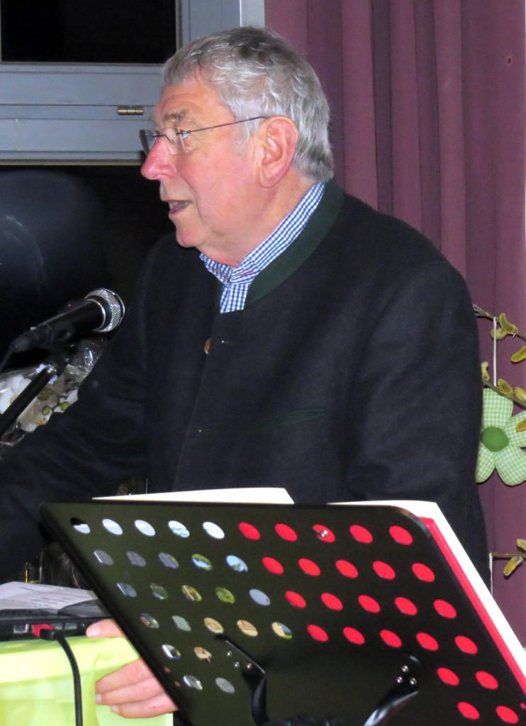 Herbert Feyrsinger, 1. Vorsitzender des KV für Gartenbau und Landespflege Landsberg am Lech e.V.